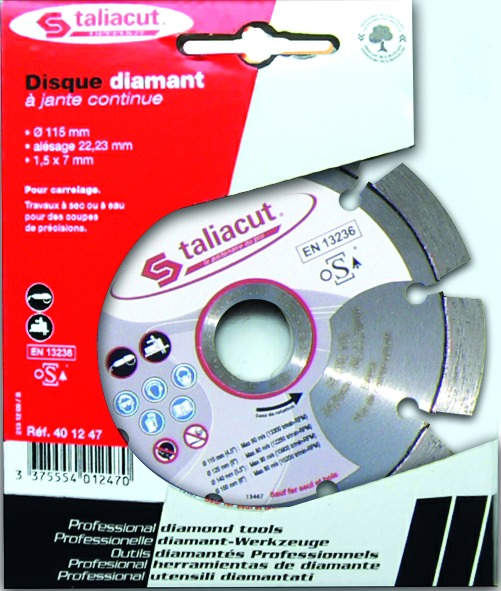 Disques diamant à segments