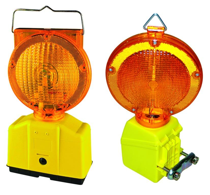Lampe de chantier clignotante automatique