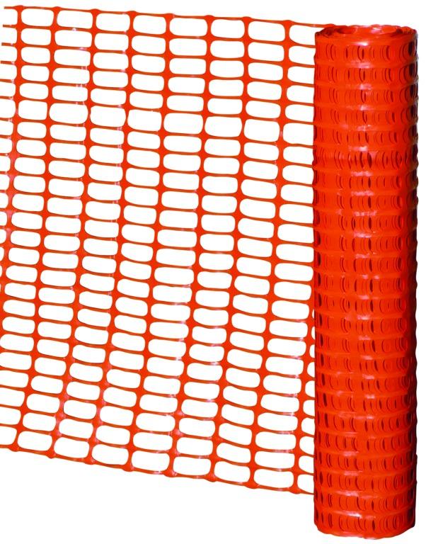 Barrière de signalisation orange