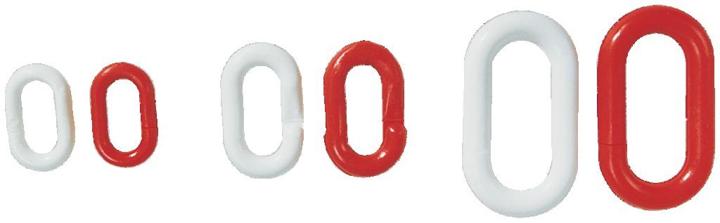 Maillons pour chaîne plastique