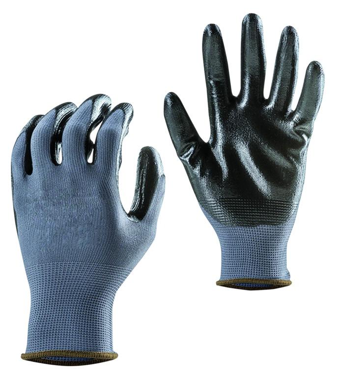 Gants polyester enduction nitrile