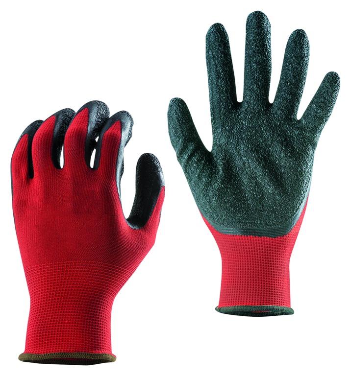 Gants polyester enduction latex