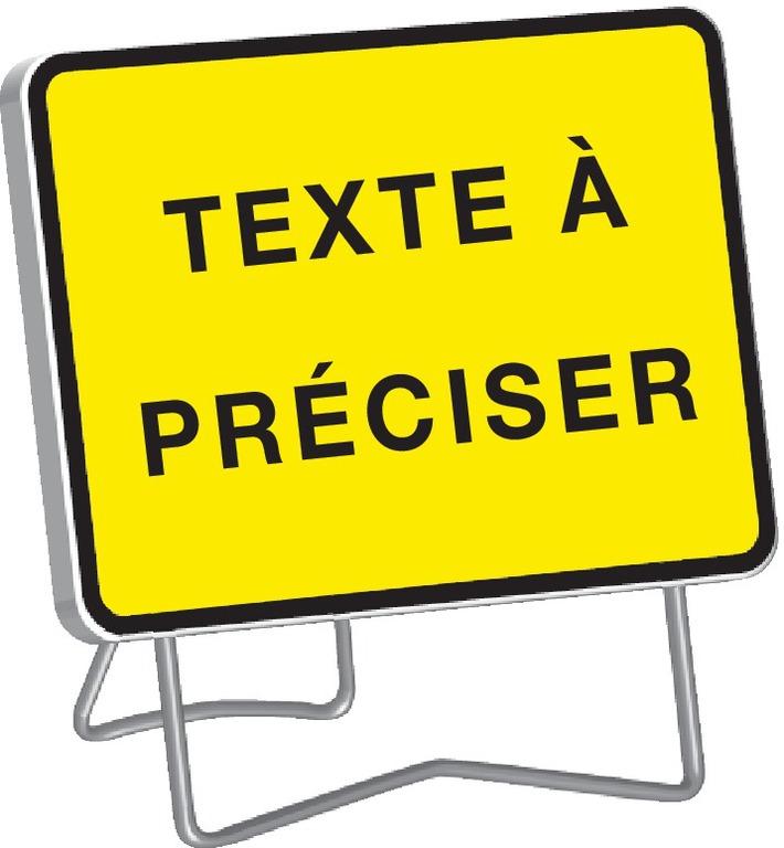 KC1 texte à personnaliser