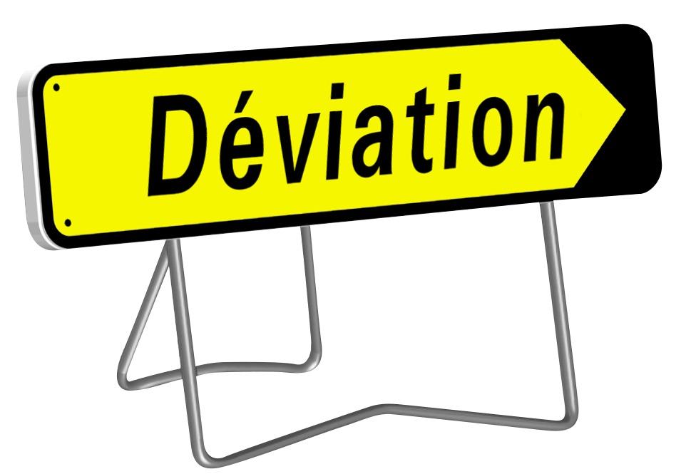 KD22a Déviation (Pieds Fixe + articulé)