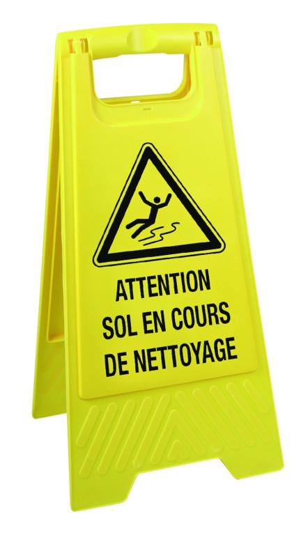 Chevalets de signalisation de danger