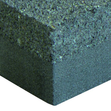 Brique de carborundum double grain