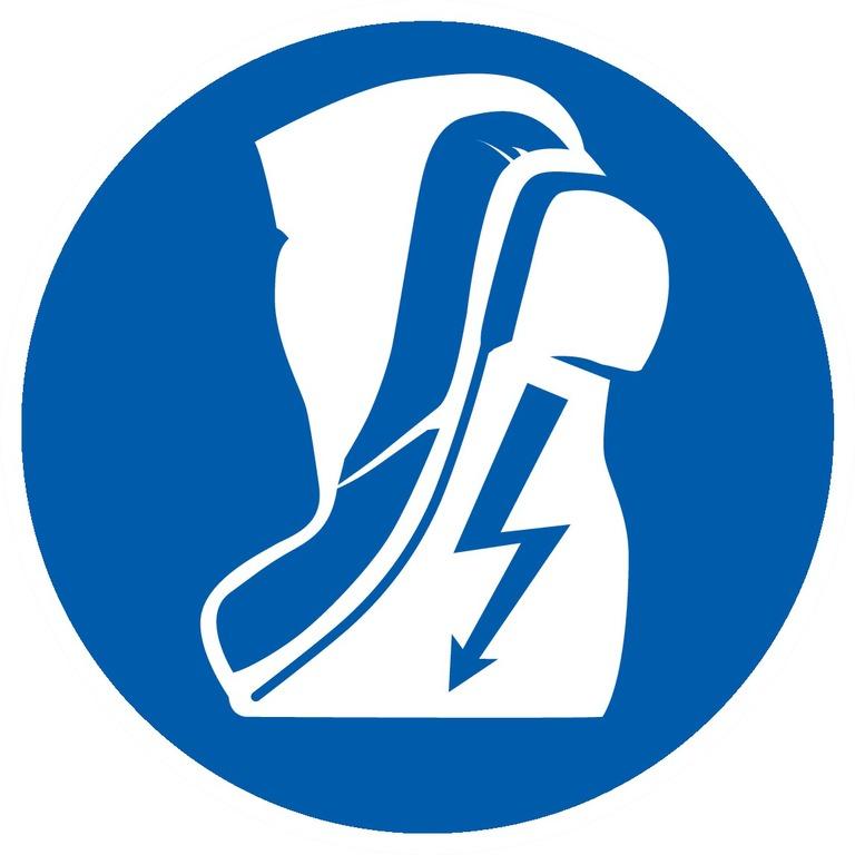 Chaussures isolantes obligatoires