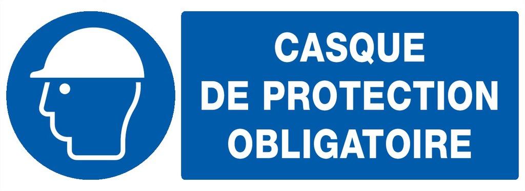 Casque deprotection obligatoire