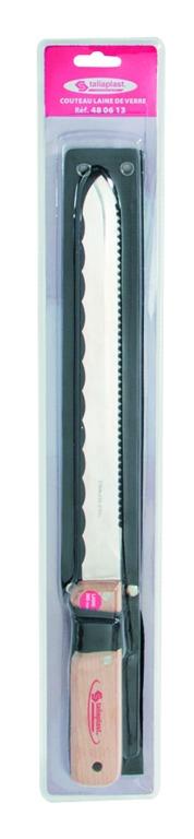 Couteau laine de verre