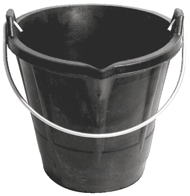 Seau allégé à bec 12 litres