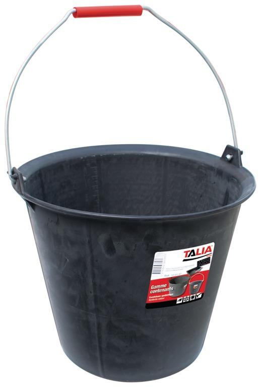 Seau taliagom® renforcé à ergots* 13 litres