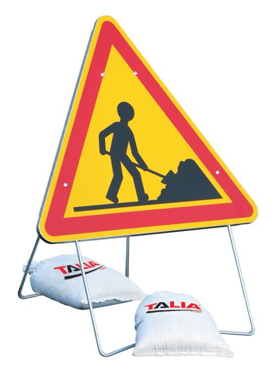 Lestages panneaux de signalisation