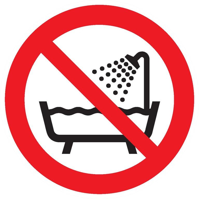 Ne pasutiliser cedispositif dans unebaignoire, douche ouréservoir d'eau