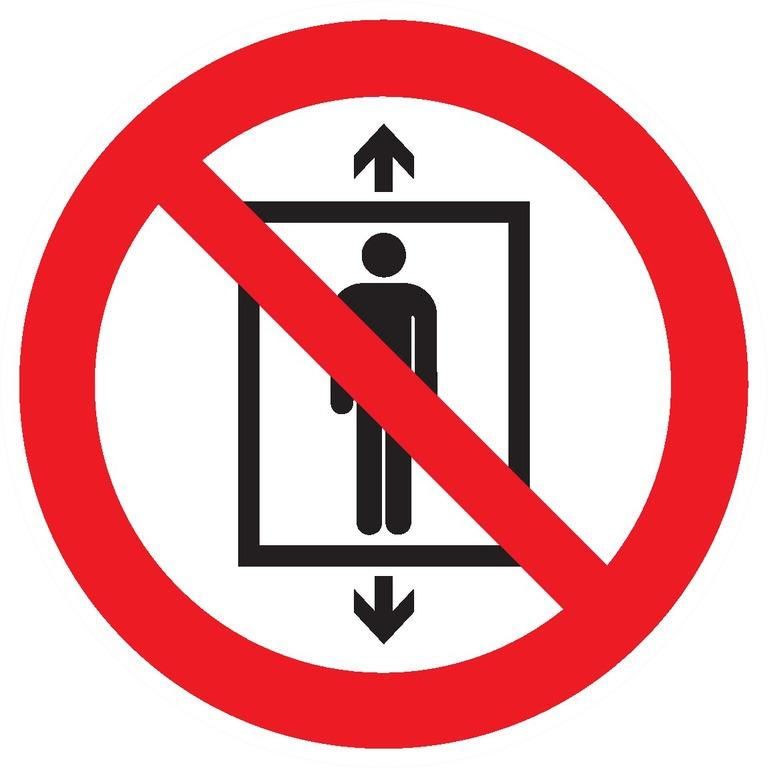 Ne pasutiliser cet ascenseur pour despersonnes