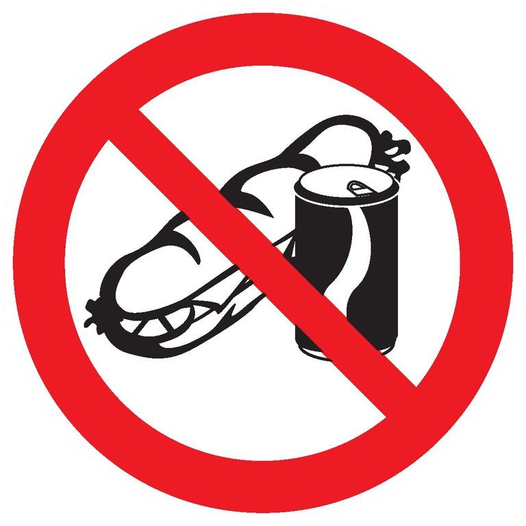 Sandwich etboissons interdits