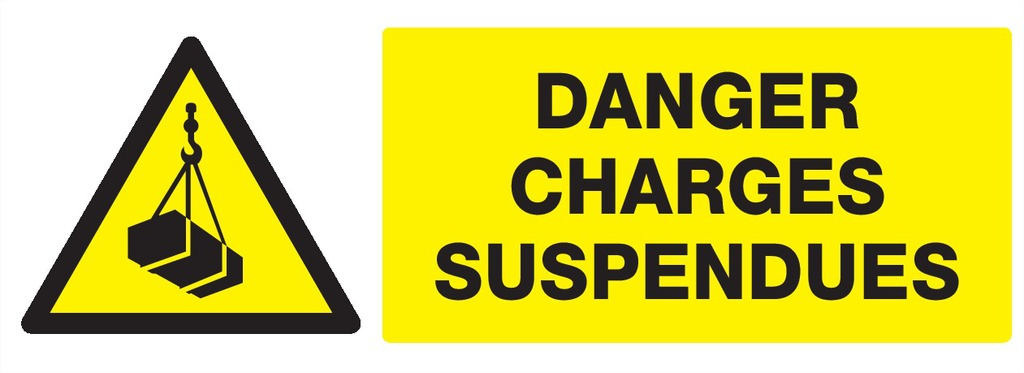 Danger charges suspendues