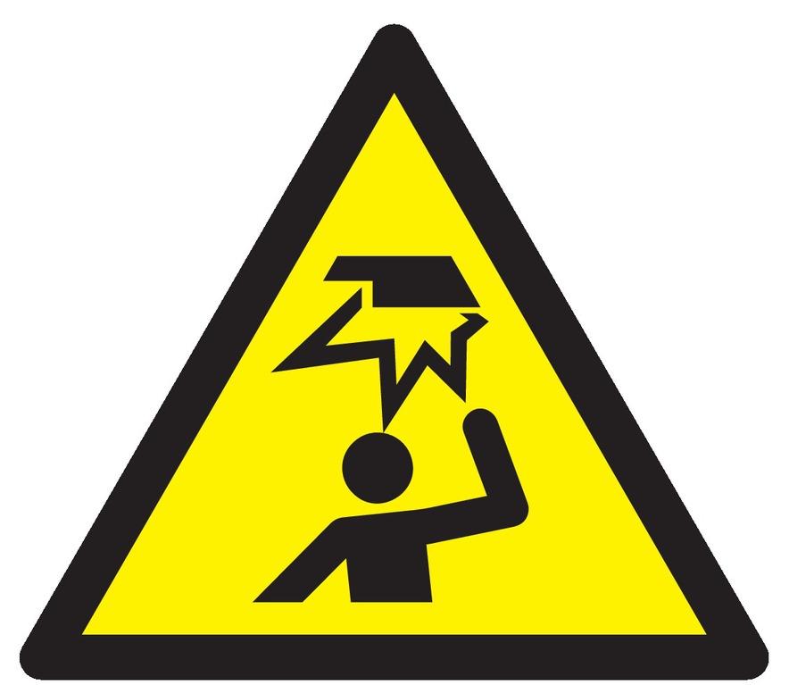 Danger, obstacle enhauteur