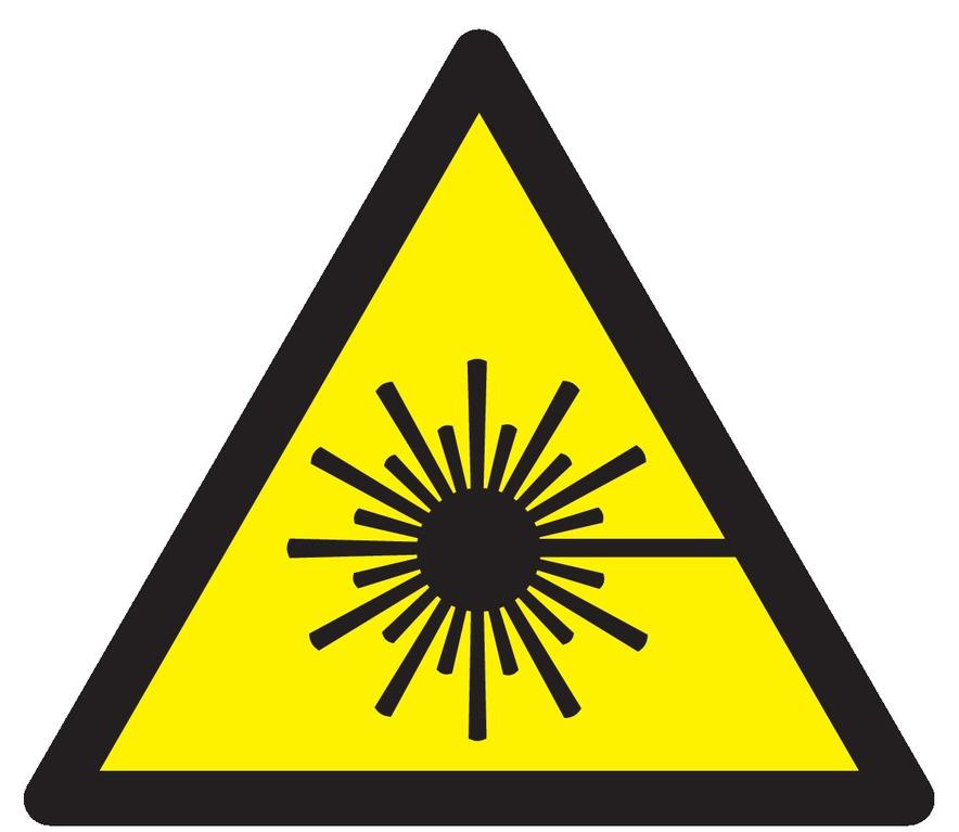 Danger, rayonnement laser