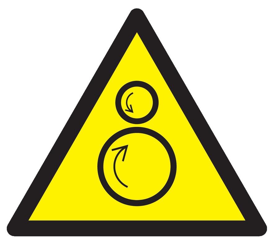Danger, rouleaux contrarotatifs