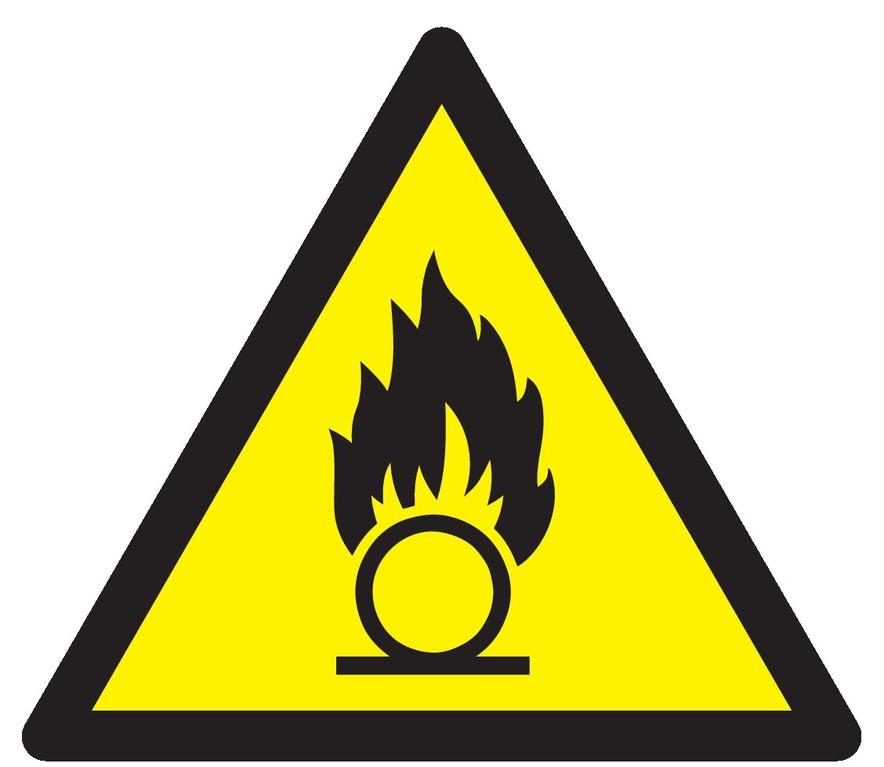 Danger, substances comburantes