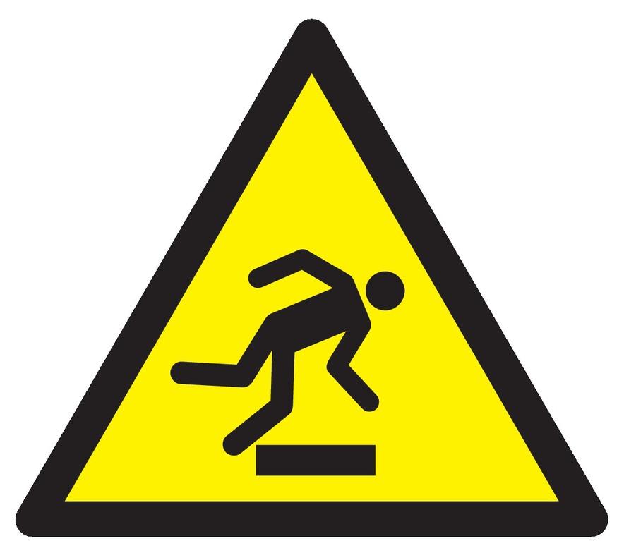 Danger, trébuchement