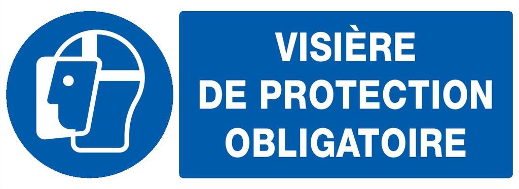 Visière deprotection obligatoire