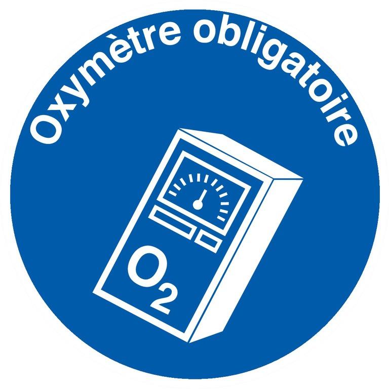 Oxymètre obligatoire