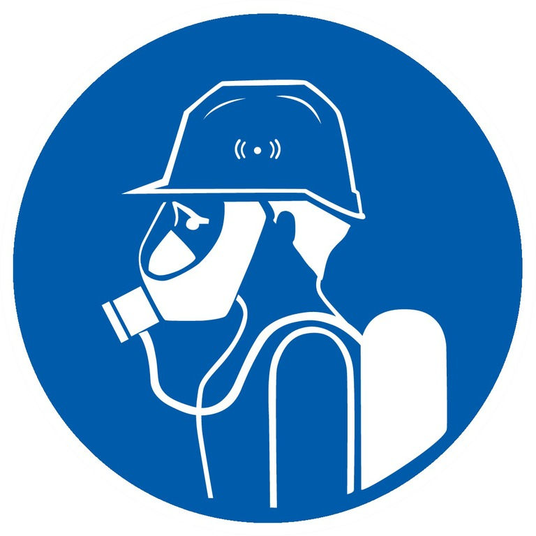 Protection obligatoire dela tête etdesvoies respiratoires (2)
