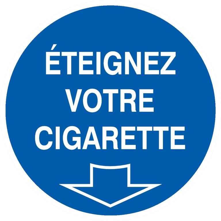 Éteignez votre cigarette