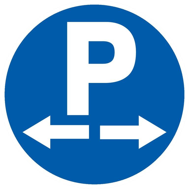 Parking dans lesdeux sens