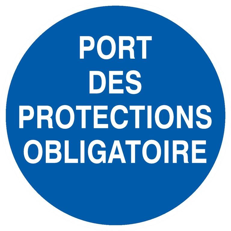 Port desprotections obligatoire