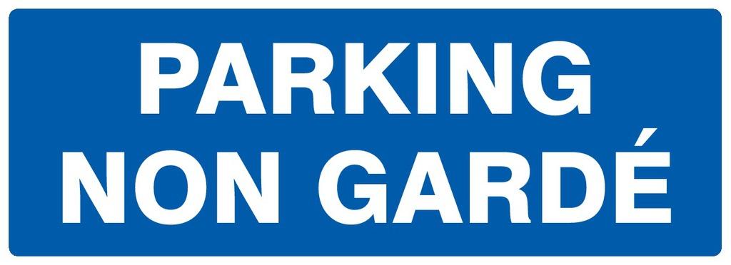 Parking nongardé