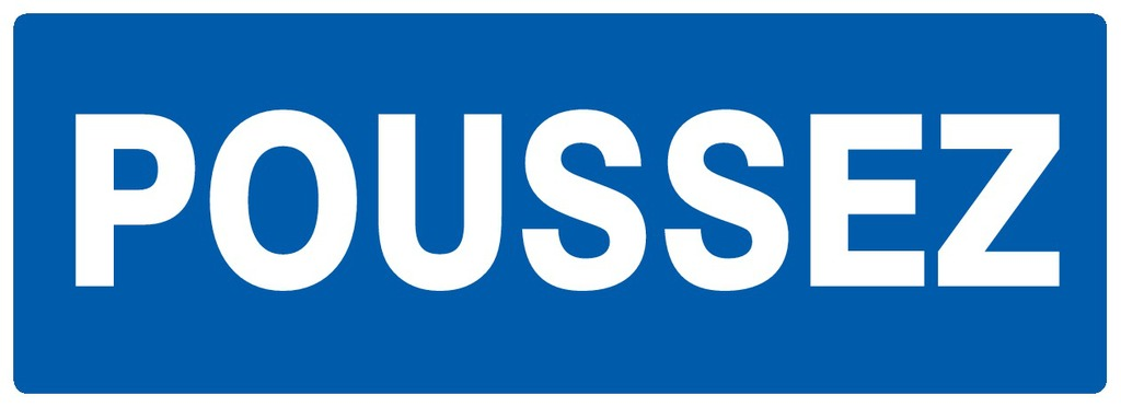 Poussez