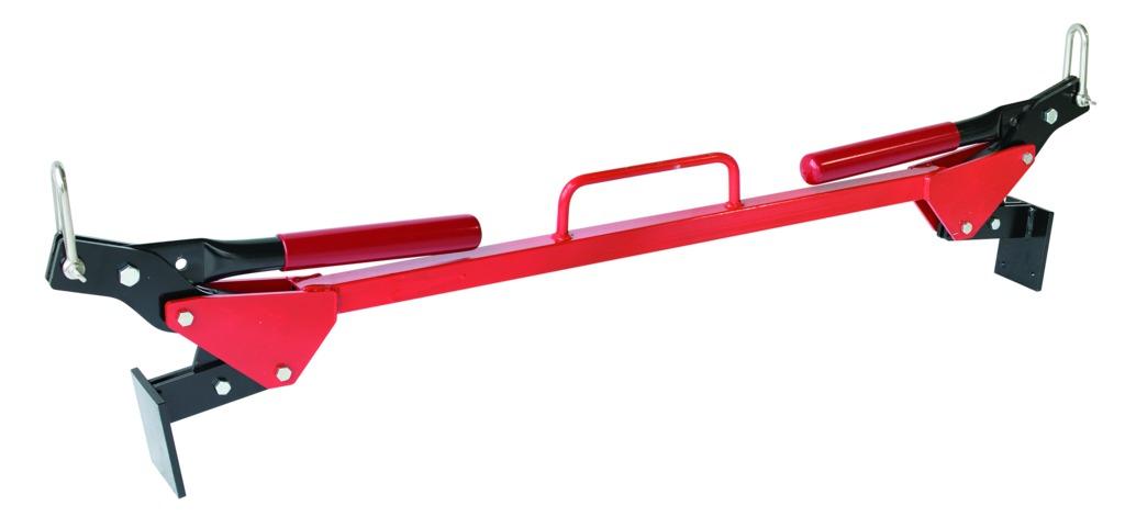 Pose-bordure de trottoir poignées repliables avec manilles longues