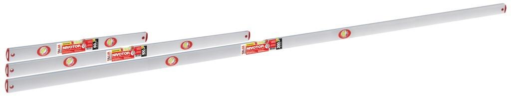 Nivotop® ALU rectangulaire entièrement magnétique