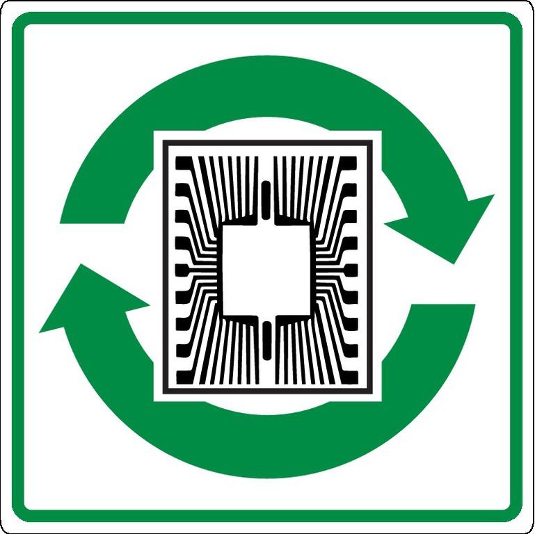 Recyclage descircuits etpuces électroniques