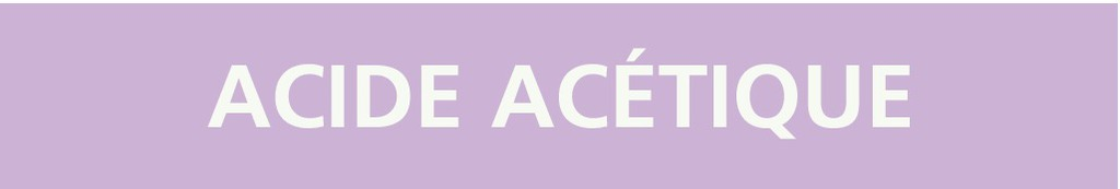 Acide acétique