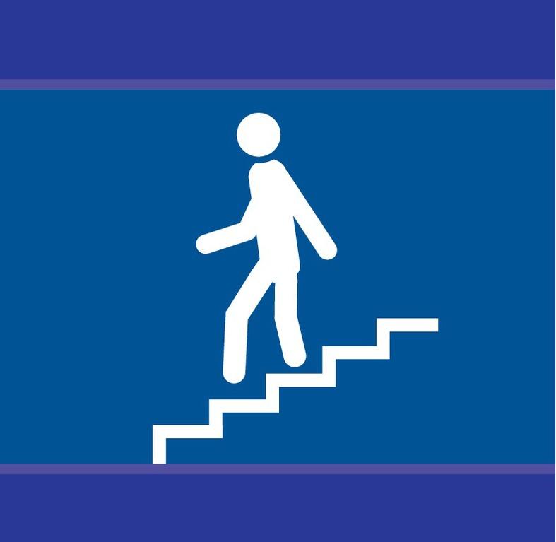 Escalier en descente