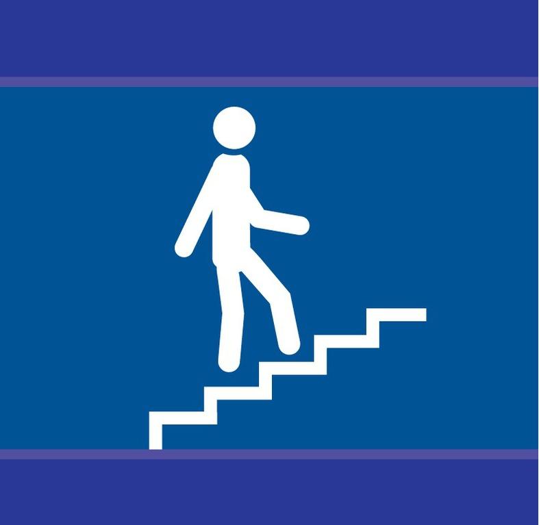 Escalier en montée