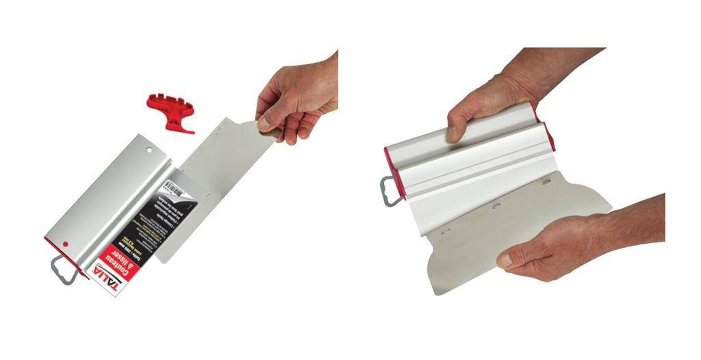 Couteau à lisser INOX 0,3 mm