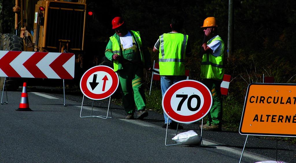 Signalisation et balisage de chantier