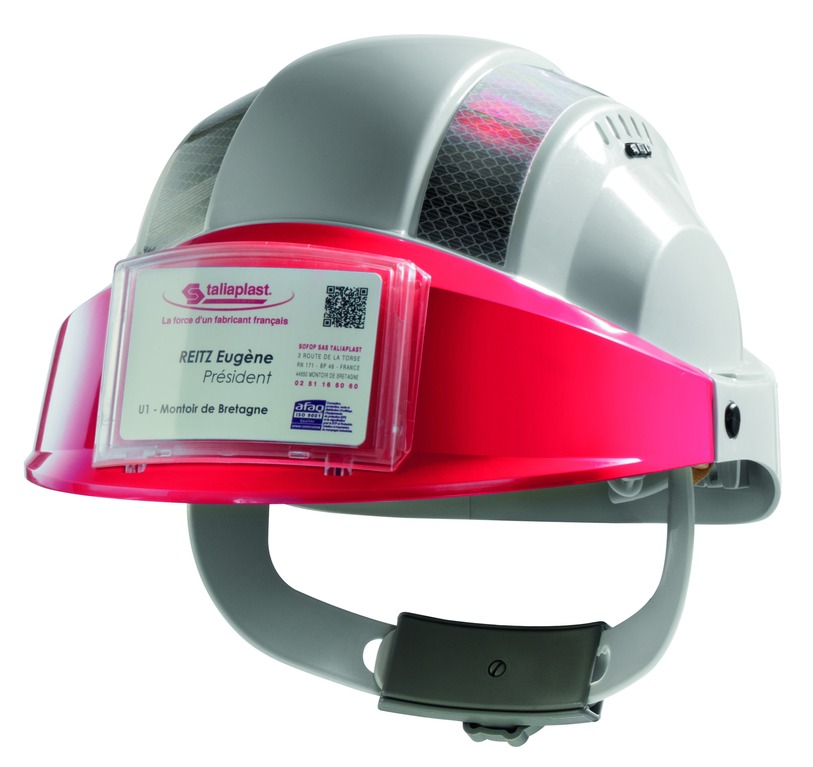 Porte badge pour casque Orizon®