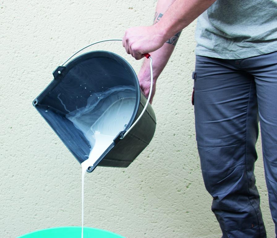 Seau taliagom® renforcé côté plat à ergots* 13 litres