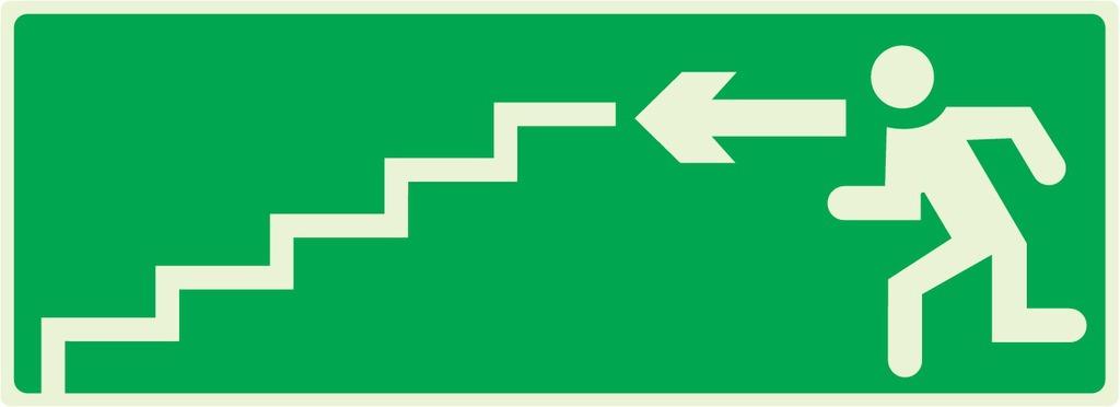 Escalier desecours descendant àgauche