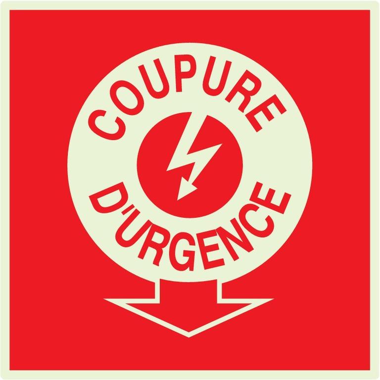 Coupure électricité d'urgence