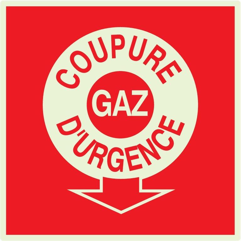Coupure gazd'urgence