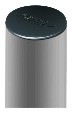 Poteaux cylindriques pour signalisation permanente