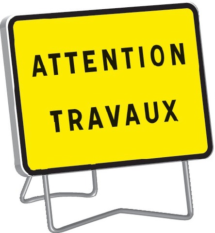 KC1 Attention travaux