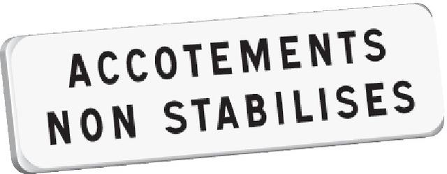 M9 Accotements non stabilisés