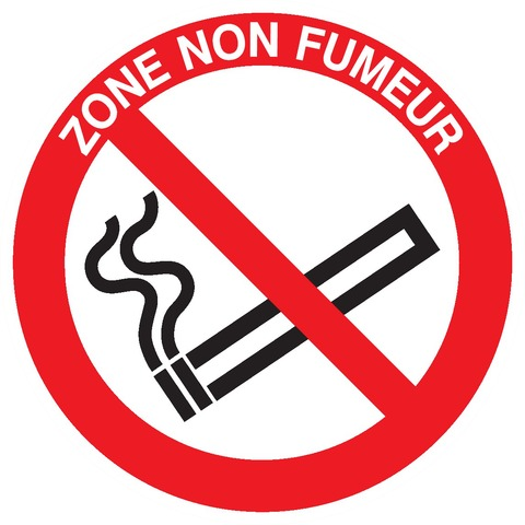 Zone nonfumeur